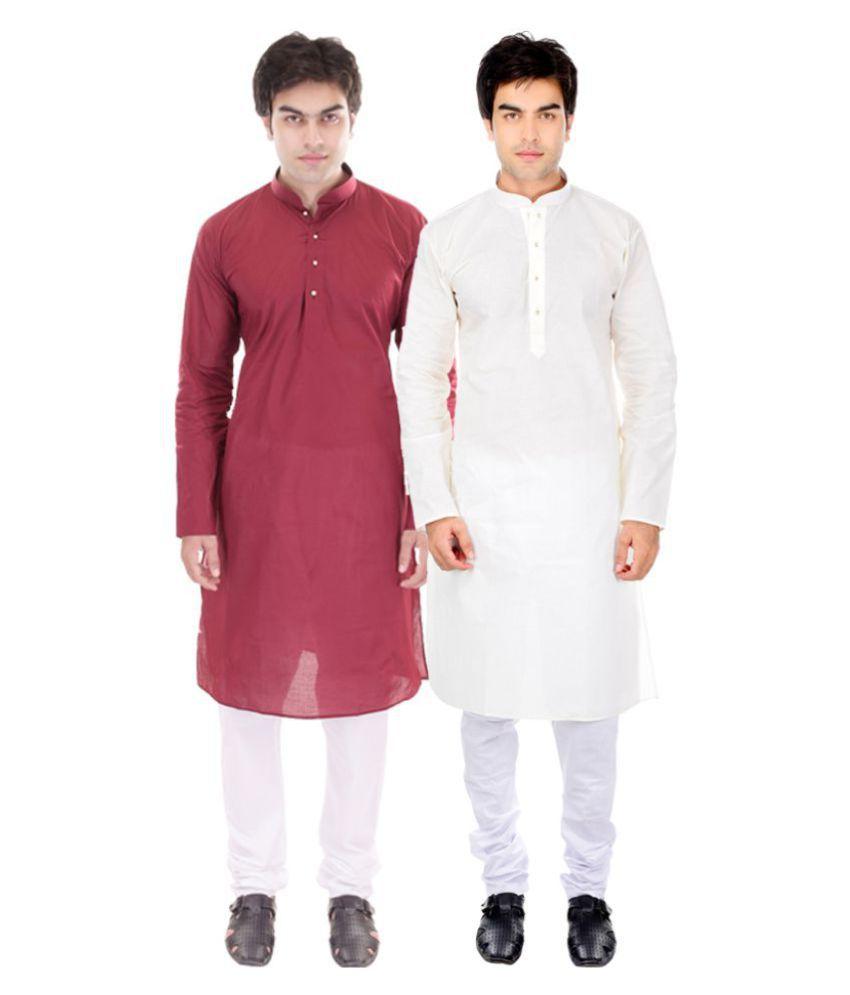 ellegent exports multi cotton kurta
