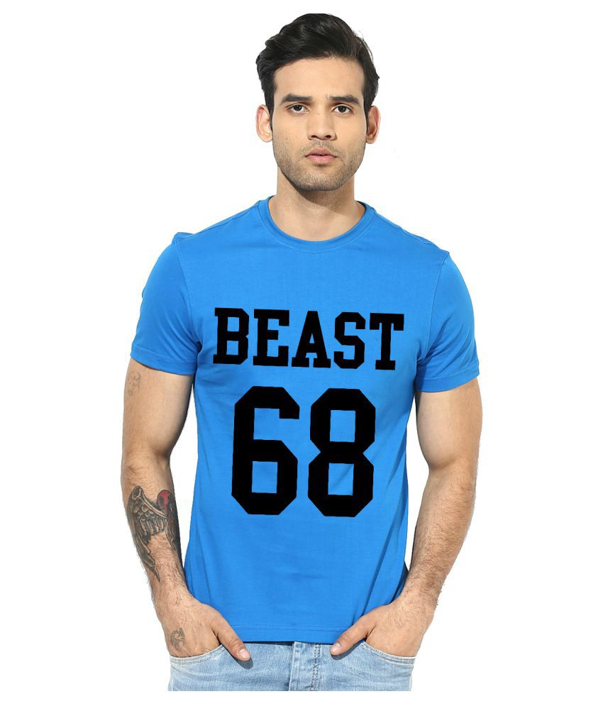 Indian Engineer Blue Round T-Shirt