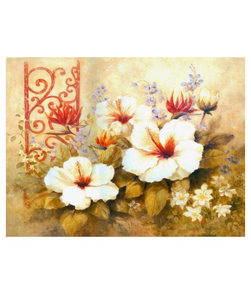 Vitalwalls Paper Art Prints With Frame Single Piece