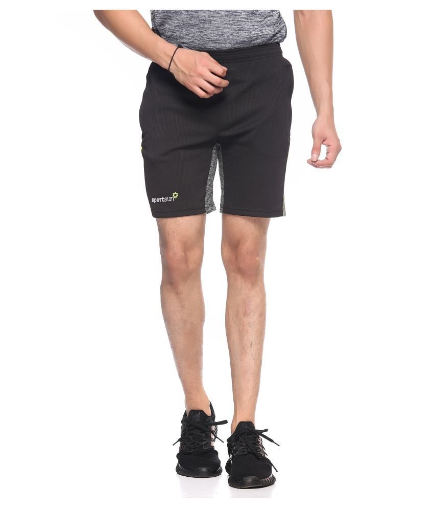 Sport Sun Black Shorts