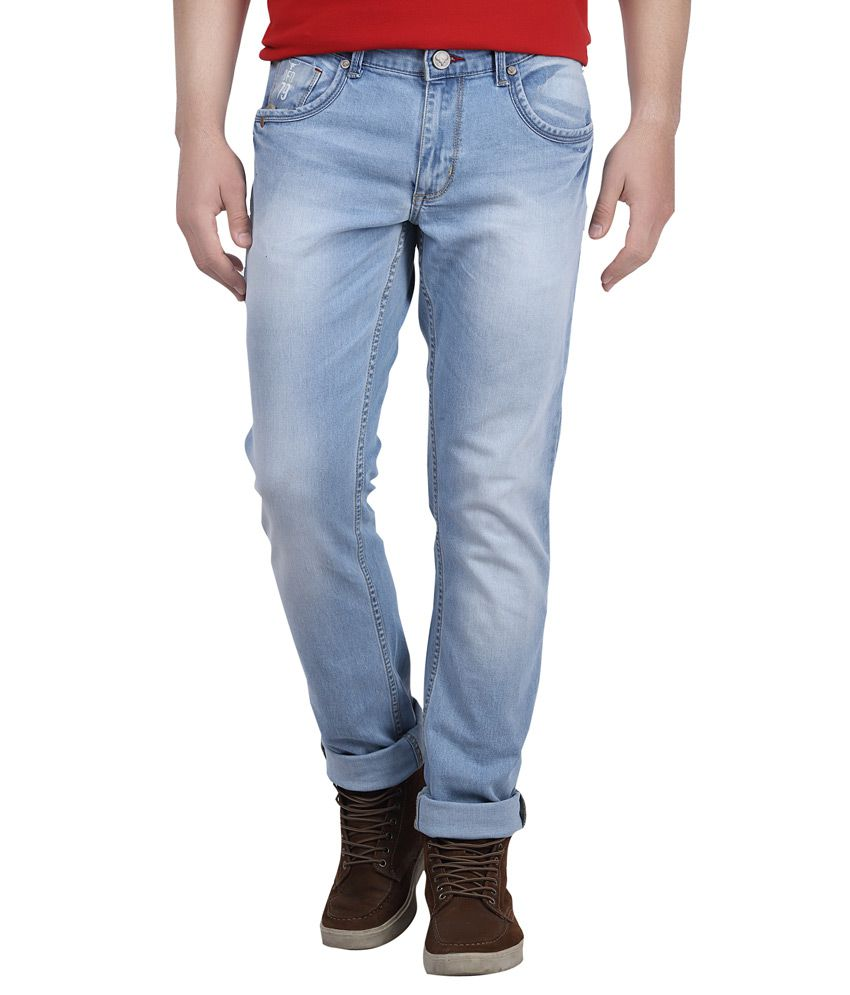 Buffalo By Fbb Blue Slim Fit Jeans