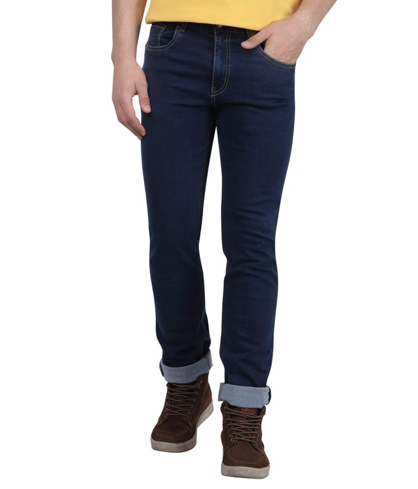 DJ&C By Fbb Blue Regular Fit Jeans