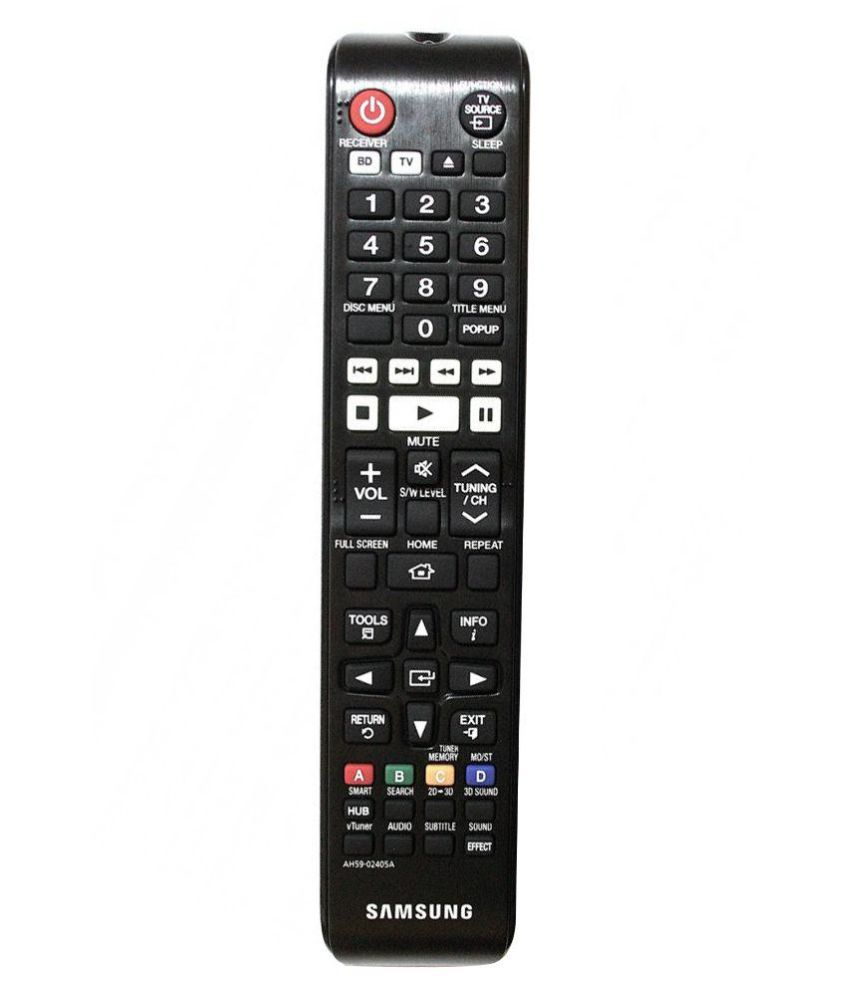 Samsung Ah59 02405a Universal Remote Compatible With Blu Ray Home Theatre Online At Best Price In India Snapdeal