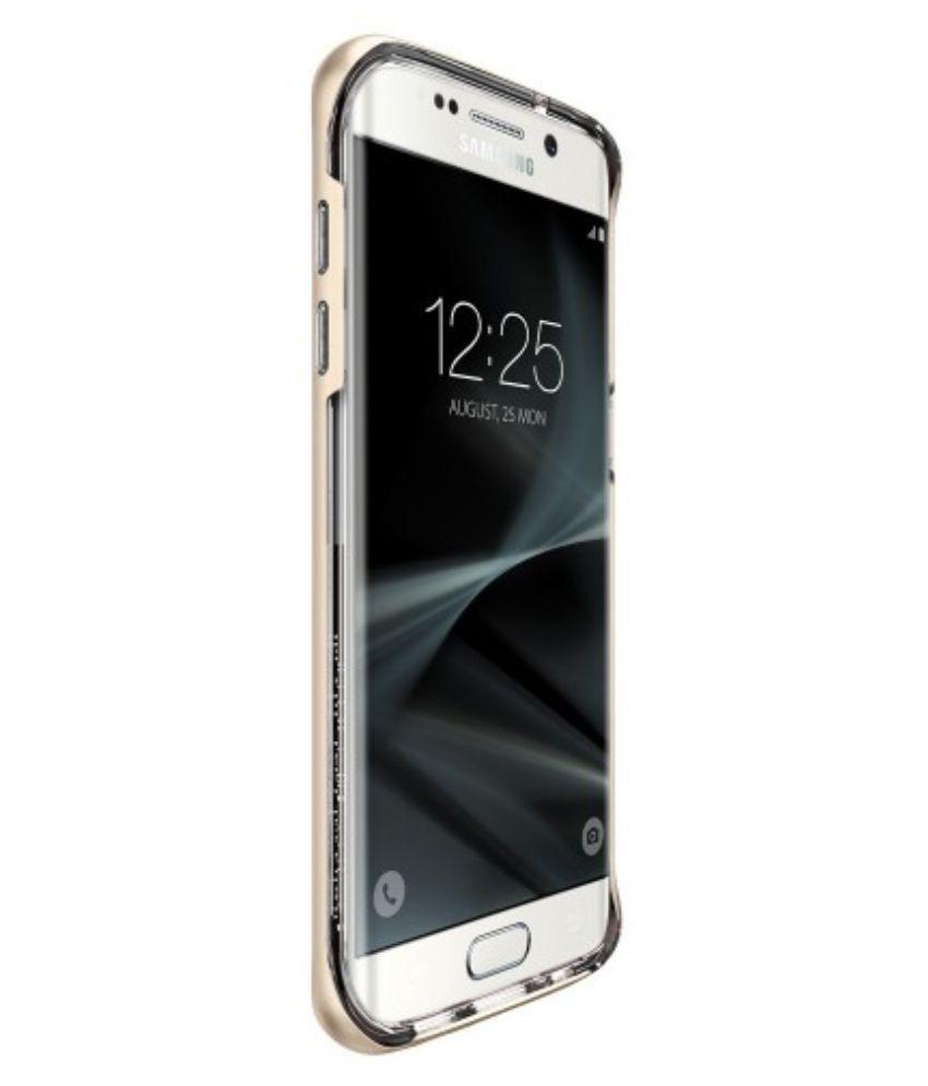 ... Spigen Galaxy S7 Edge Case Neo Hybrid Crystal Champagne Gold 556CS20048 ...