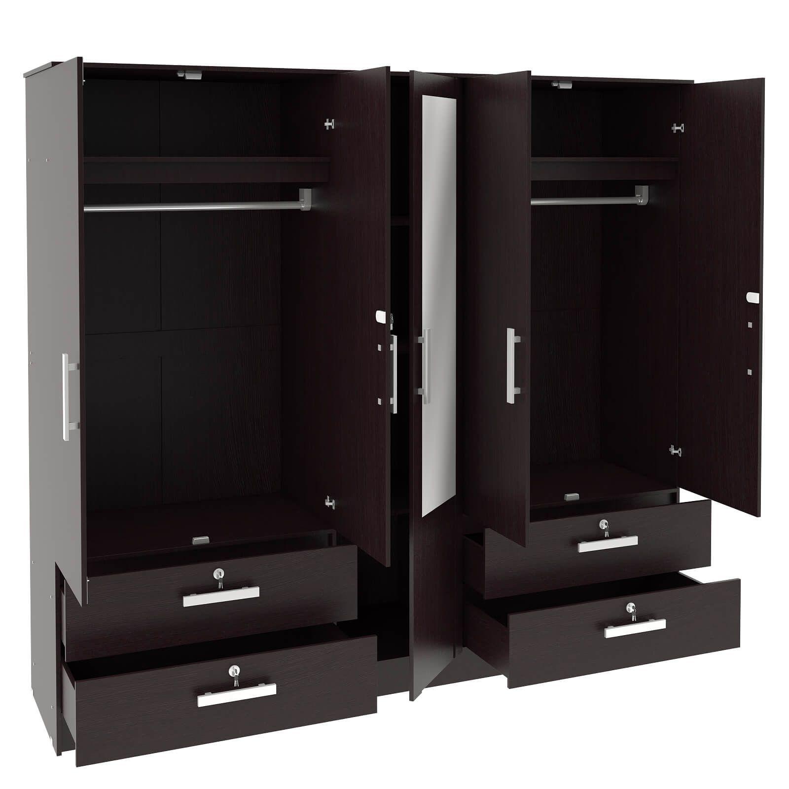 Housefull Bloom 5 Door Wardrobe Buy line at Best Price in India