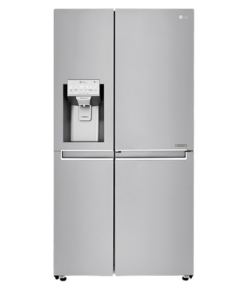 LG 668 LTR GC-L247SLUV Side-By-Side Refrigerator Shiney Steel
