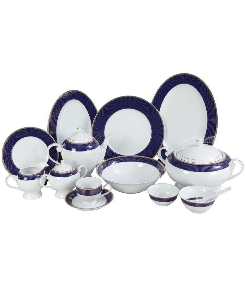 Lakline Porcelain Dinner Set Of 95