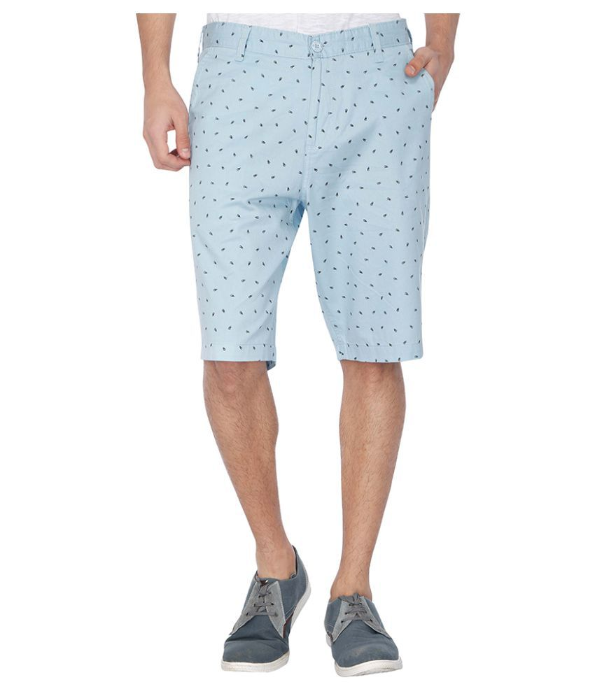 Life By Shoppers Stop Blue Shorts
