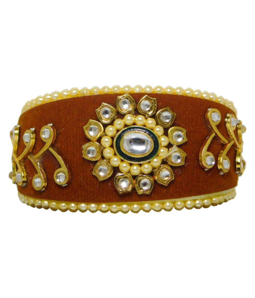 Sujwel Brown Bangle Combo