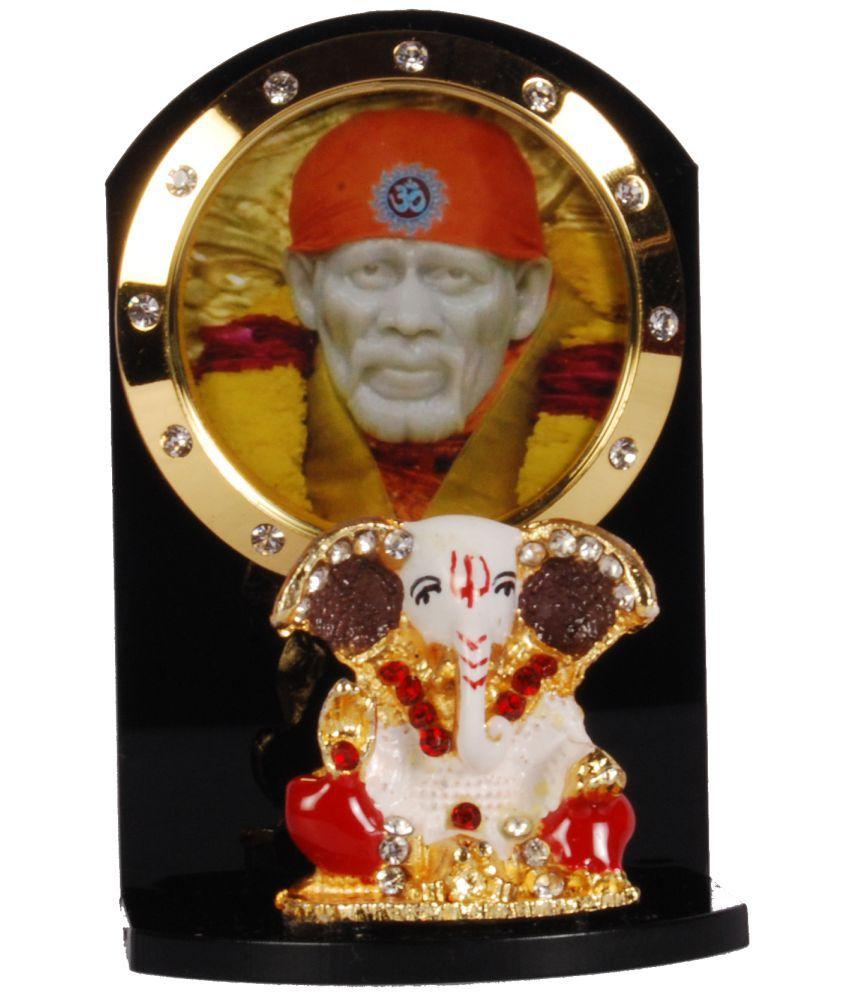 Sigaram Sai Baba Acrylic Idol For Car Dashboard