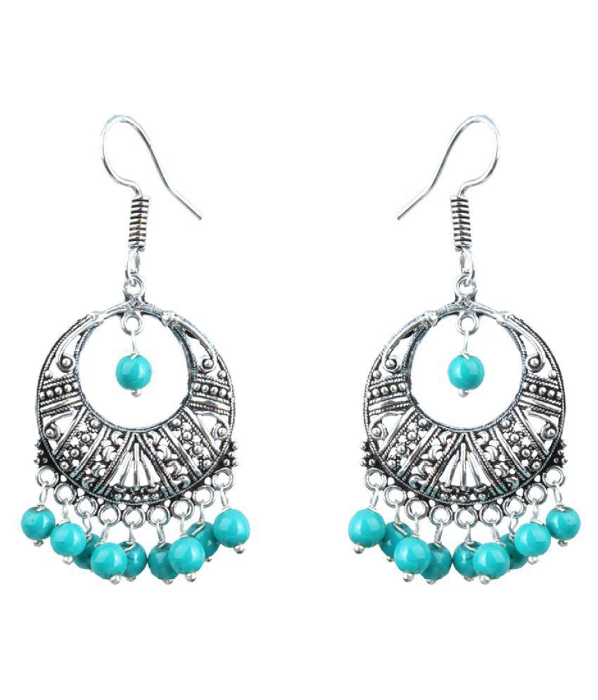 Waama Jewels Turquoise Chandeliers