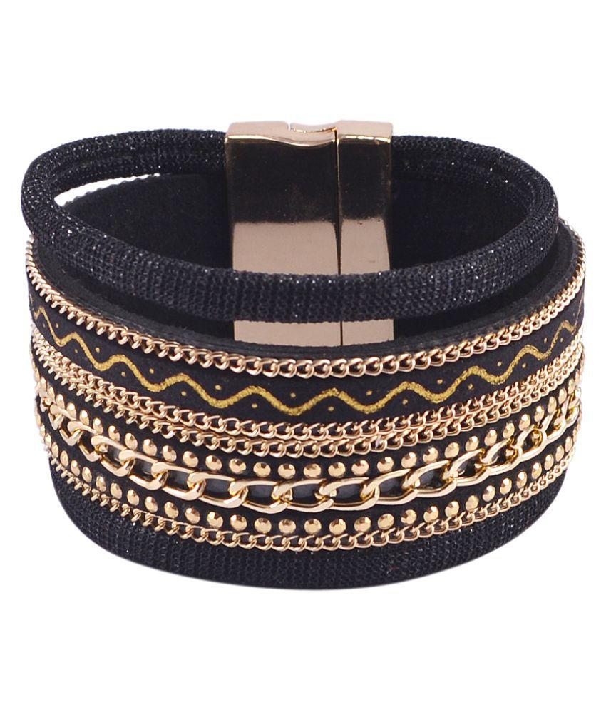 Silvesto India Golden Bracelet