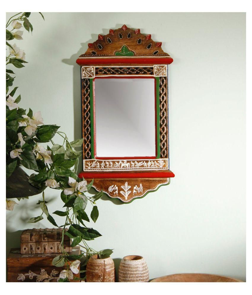 Unravel India Mirror Wall Mirror