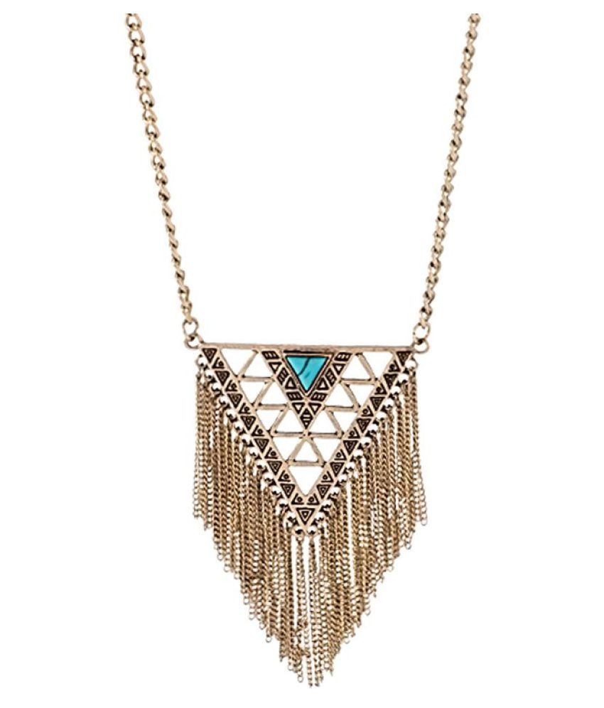 Voylla Multicolour Alloy Necklace