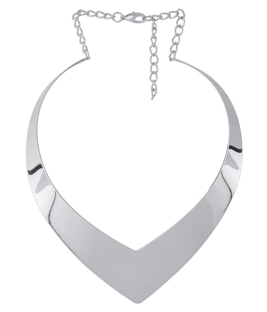 Voylla Silver Necklace