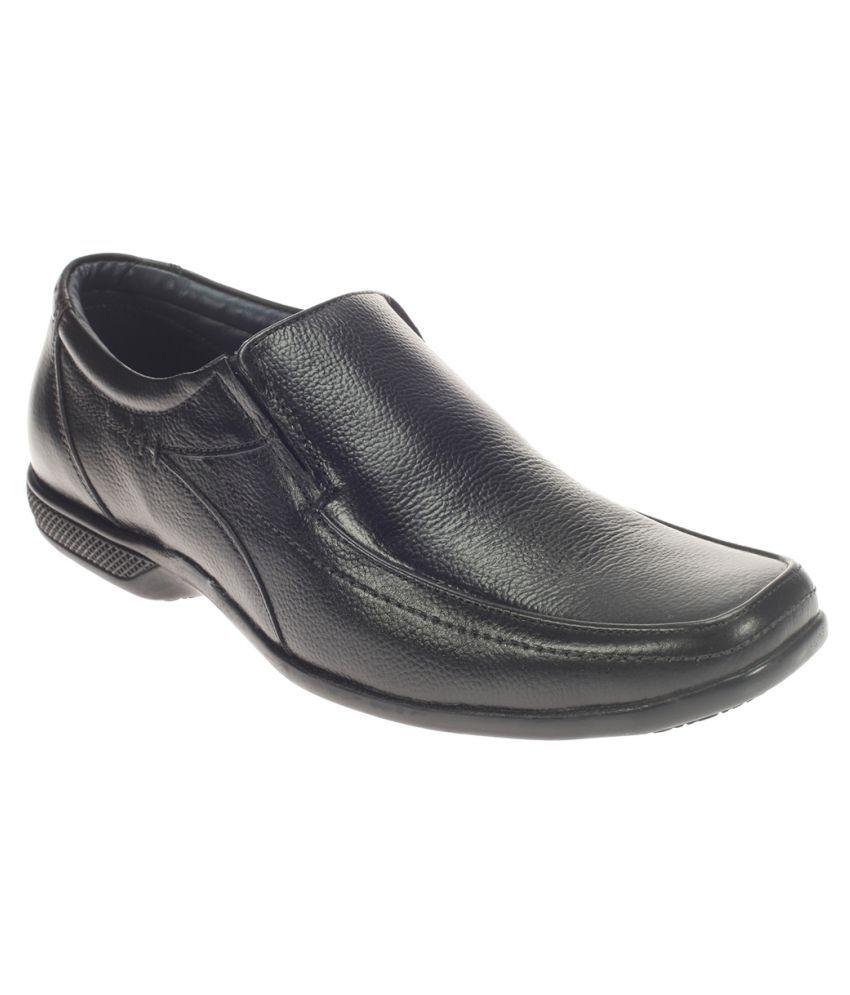 8c882dc2a Khadim s Black Slip On Genuine Leather Formal Shoes Price in India- Buy  Khadim s Black Slip On Genuine Leather Formal Shoes Online at Snapdeal
