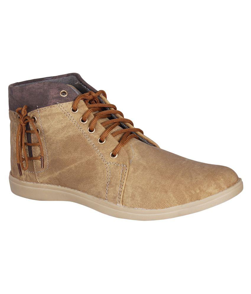 Goalgo Brown Casual Boot