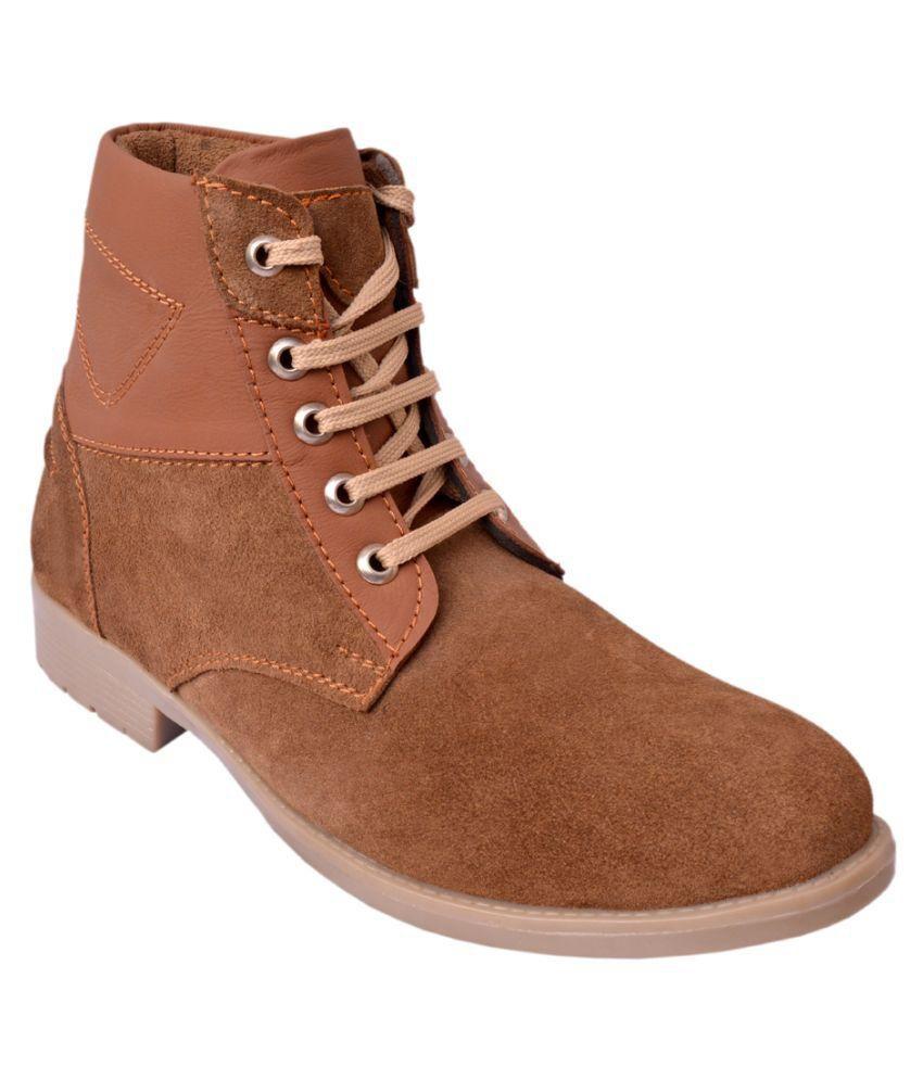 De Moda Brown Party Boot