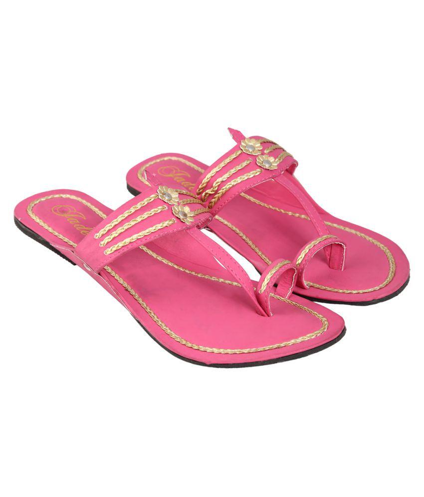 Jade Pink Flat Flats