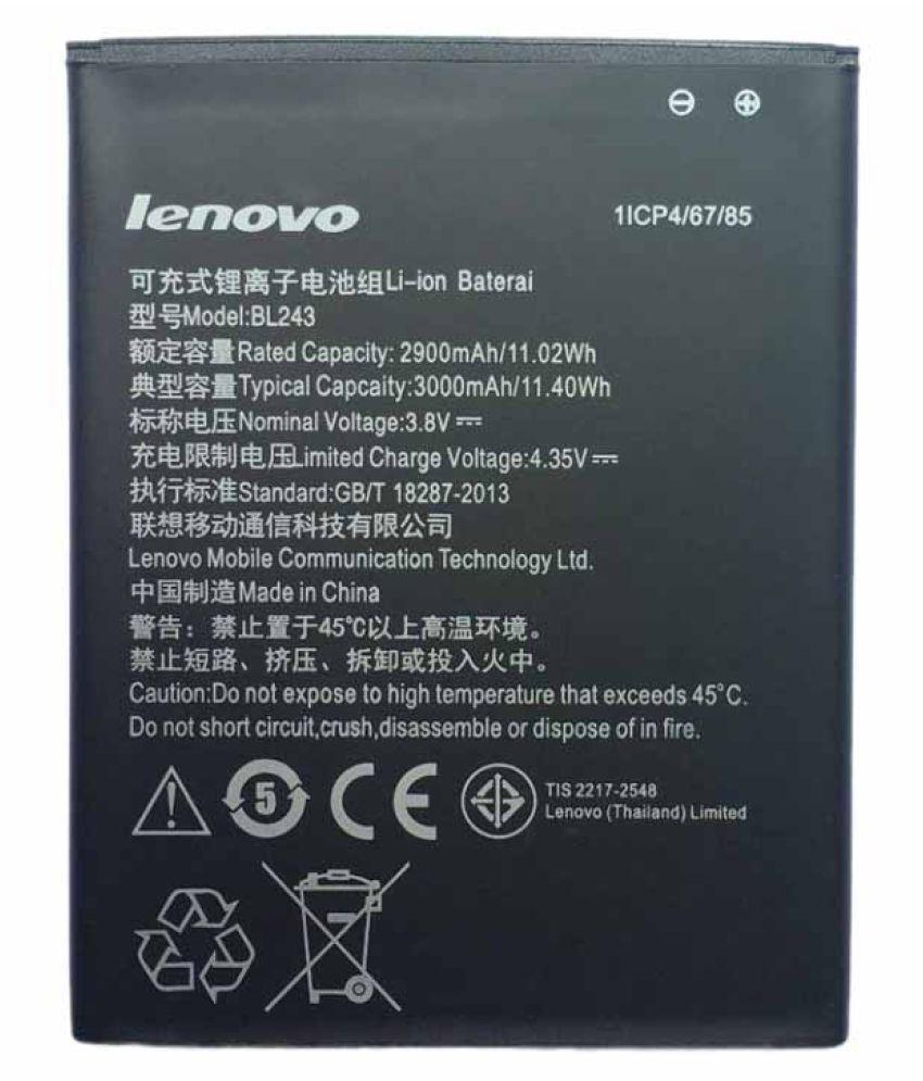 Lenovo-3000mAh-Battery-(For-Lenovo-K3-Note)