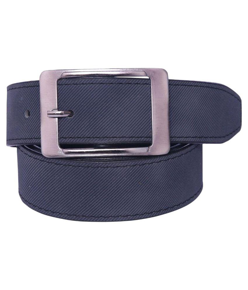 Coovs Black PU Formal Belts
