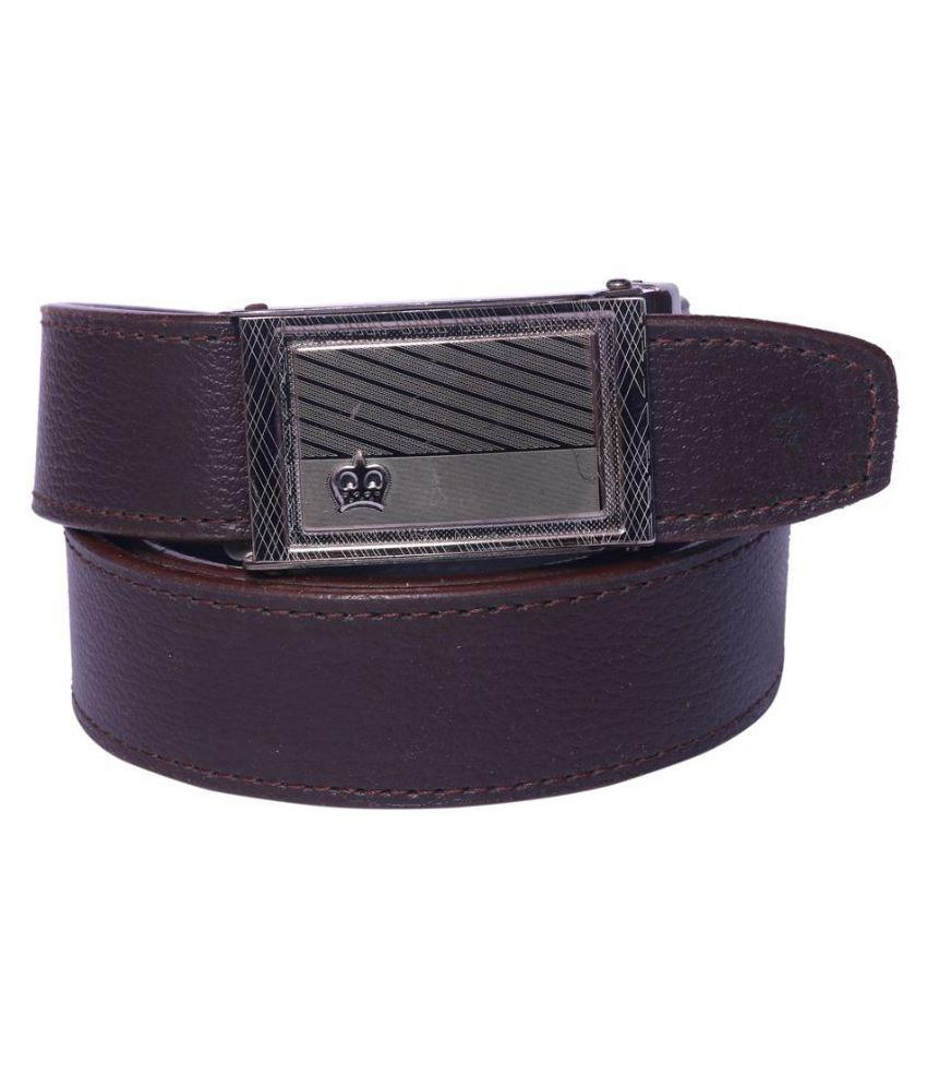 Coovs Brown PU Formal Belts