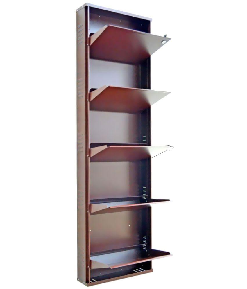 2f1793d50d4 Peng Essentials Metal 5 Tier 20   Wide Shoe Rack - Buy Peng ...