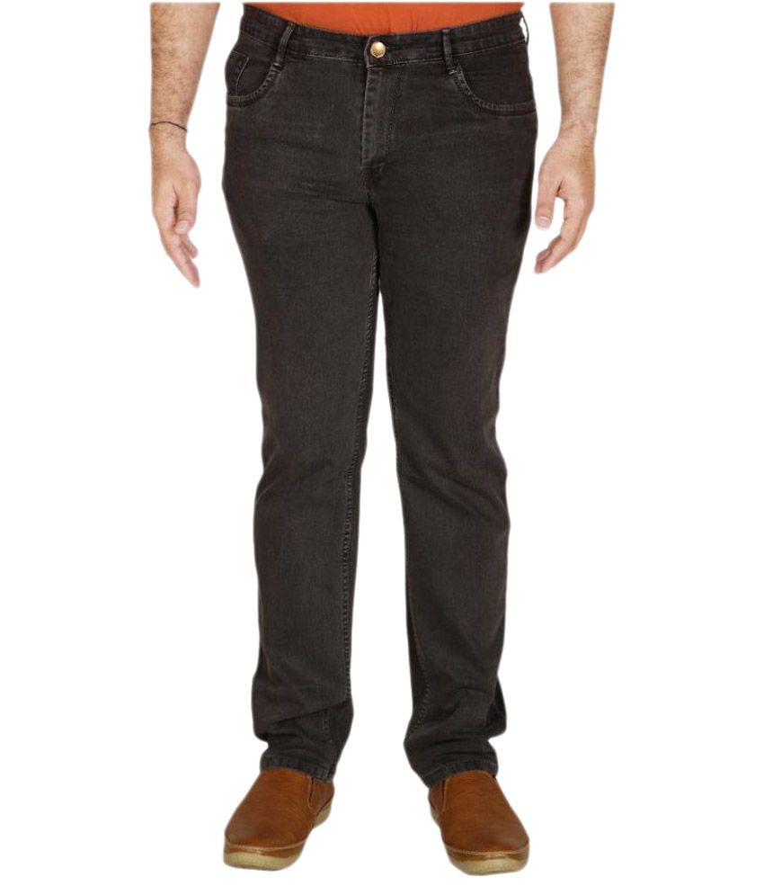 PRANKSTER Grey Slim Fit Jeans
