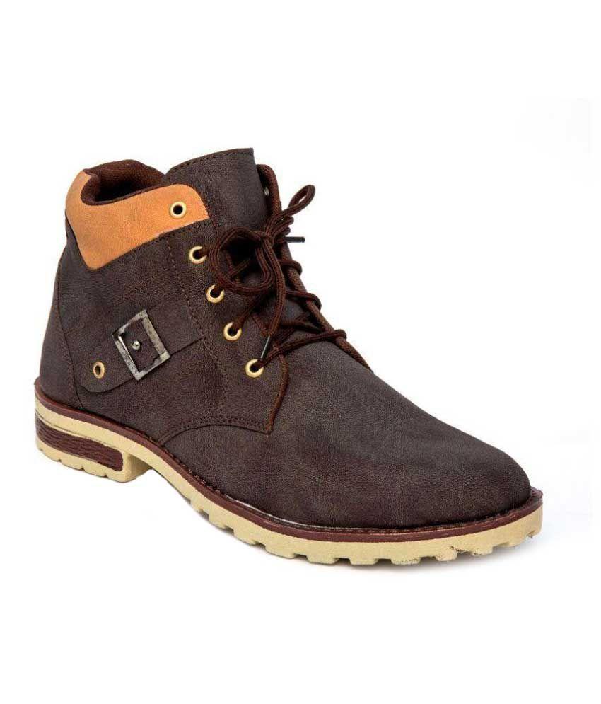 Thewhoop Brown Casual Boot