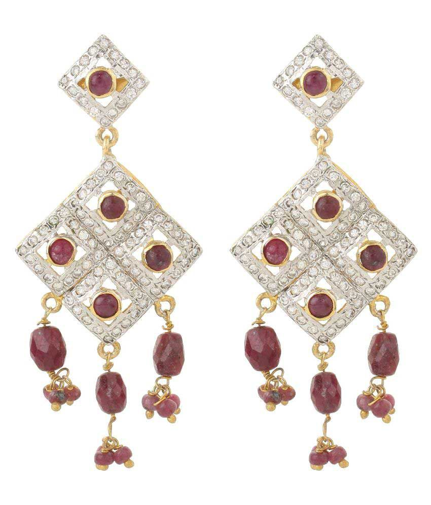 Dilan Jewels Multicolour Hanging Earrings