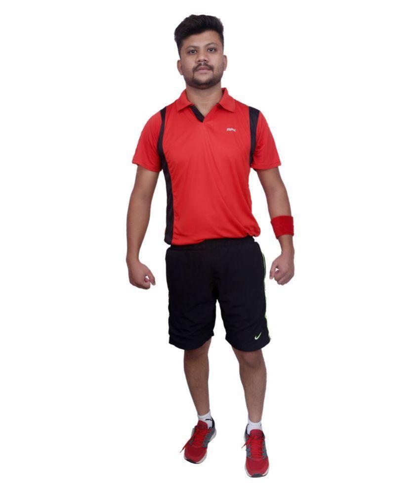 Justin Sports Multicolour Polo T-Shirt