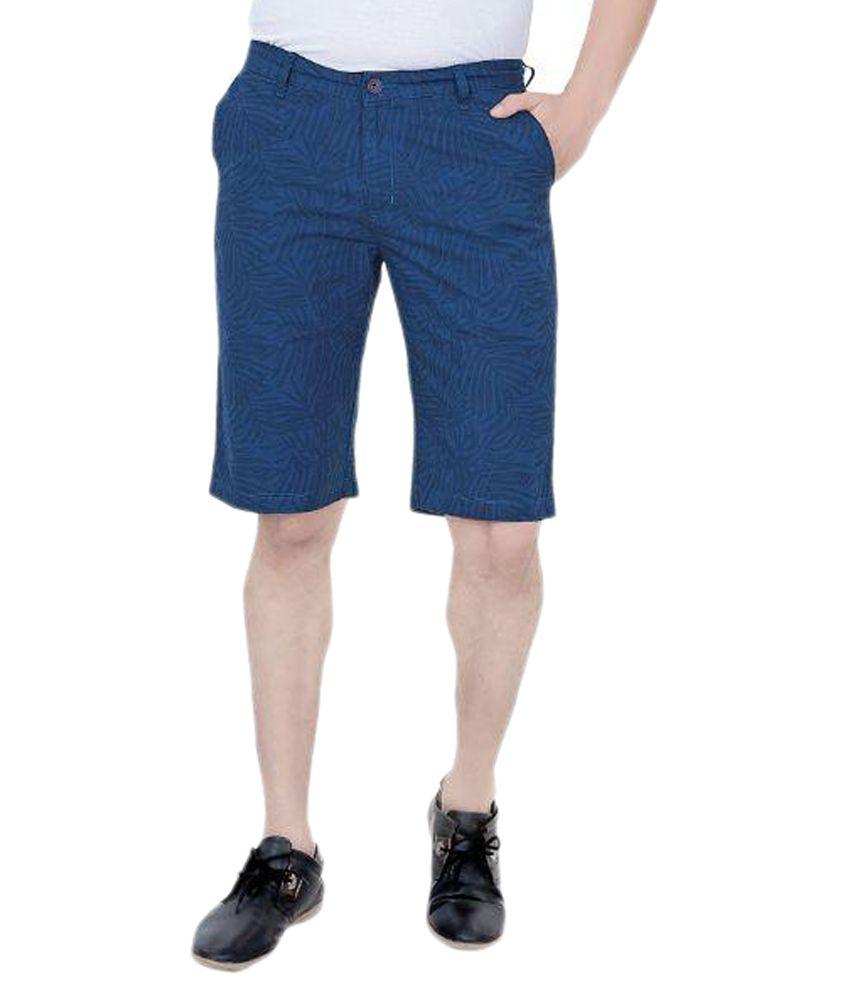 U Can Blue Shorts