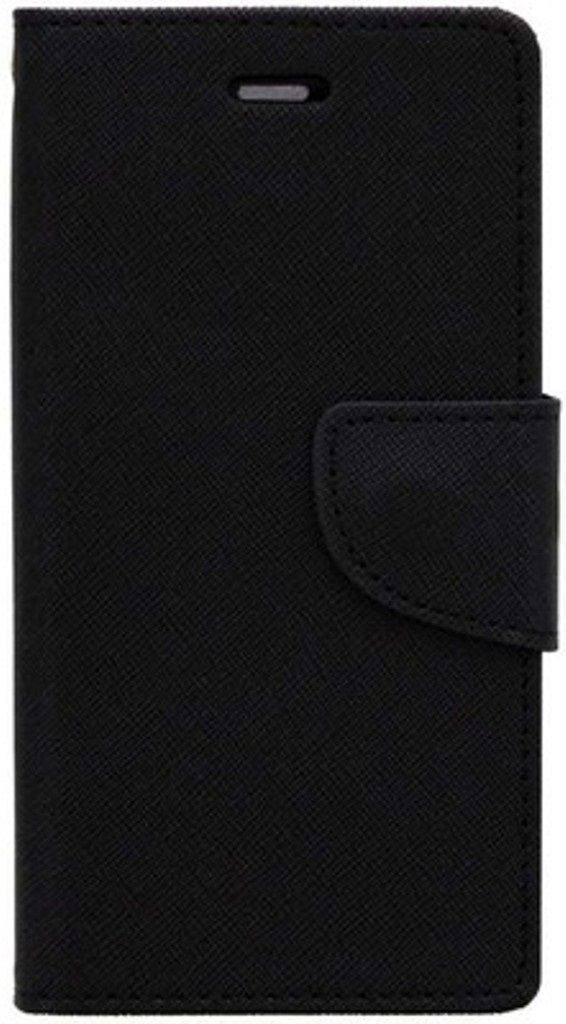 Apple iPhone 6 Flip Cover by Kosher Traders - Black
