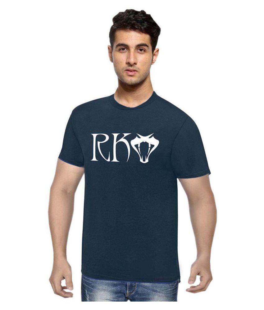 WWE Navy Round T-Shirt