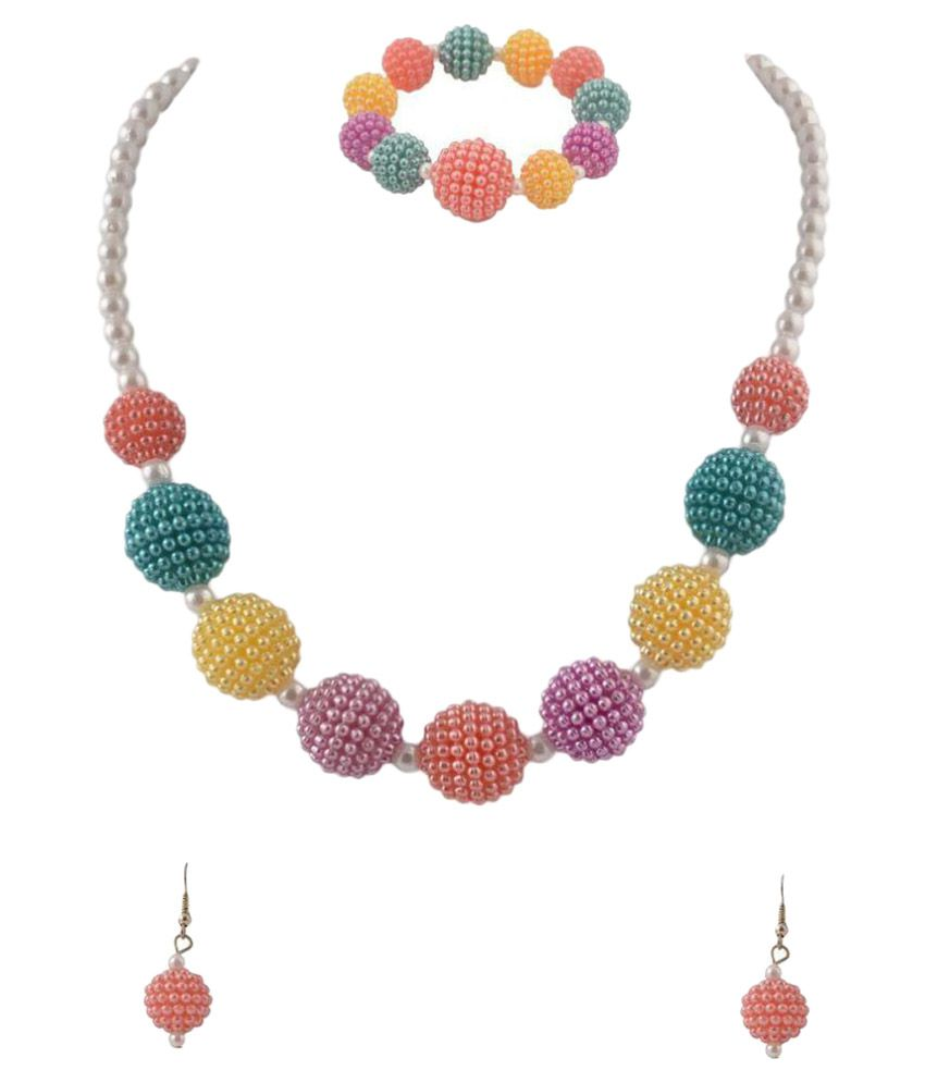 Crayon Flakes Color Beads Studded Multicolor Combos