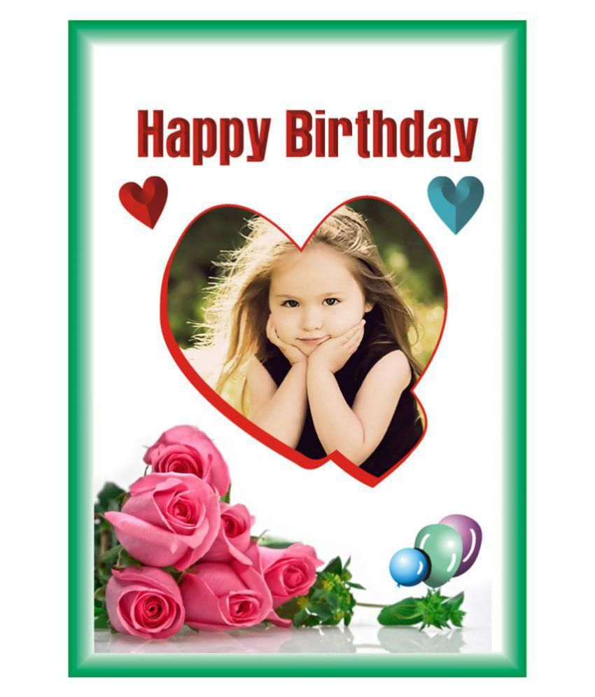 personalised birthday card a4 size buy online at best price in