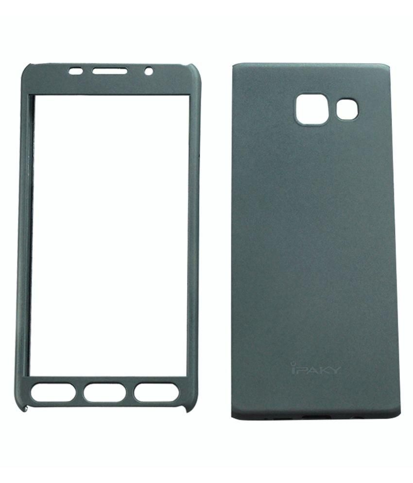 best service 3dbb6 52cc7 Samsung Galaxy A3 2016 Cover by Ipaky - Grey - Plain Back Covers ...
