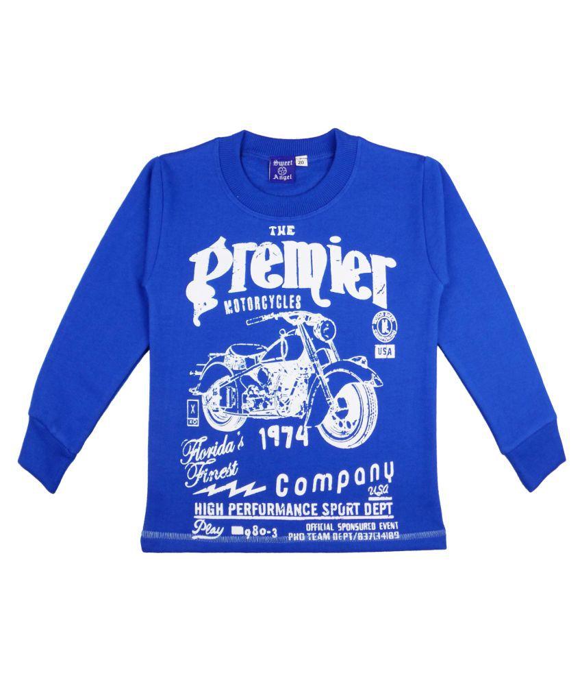 Sweet Angel Blue Sweatshirts