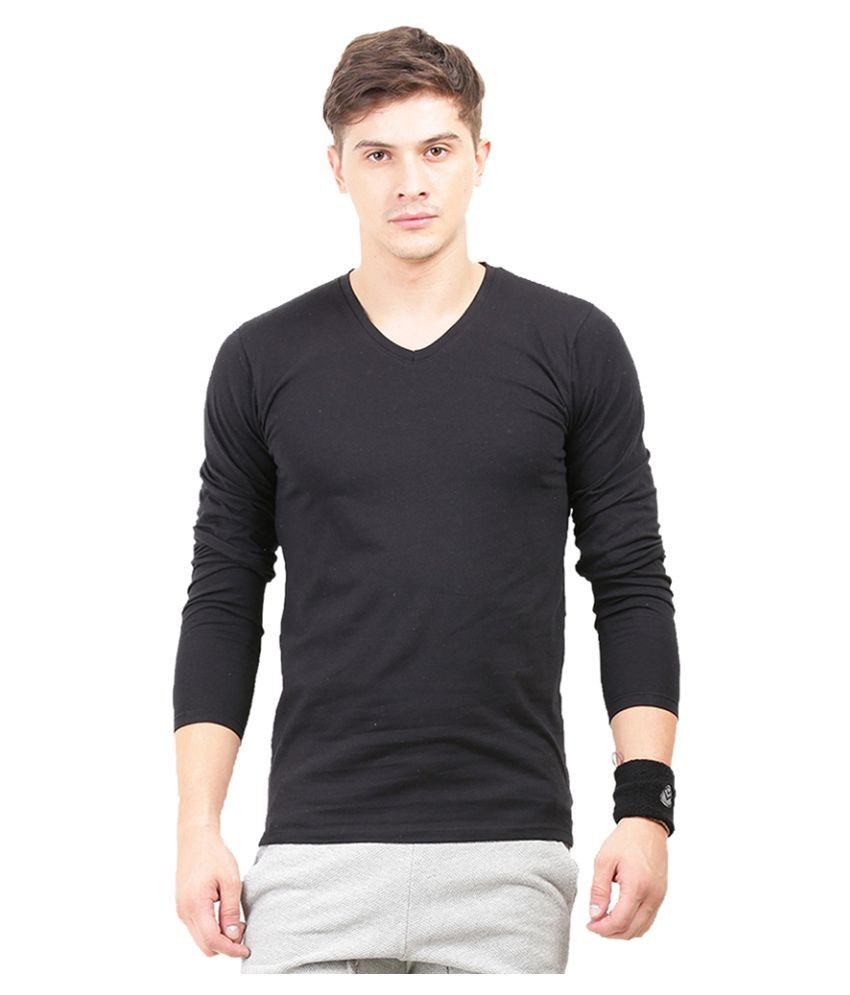 Thisrupt Black V-Neck T-Shirt
