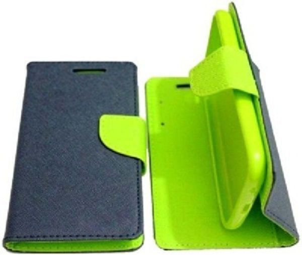 Samsung Galaxy j2 Flip Cover by Goospery - Blue