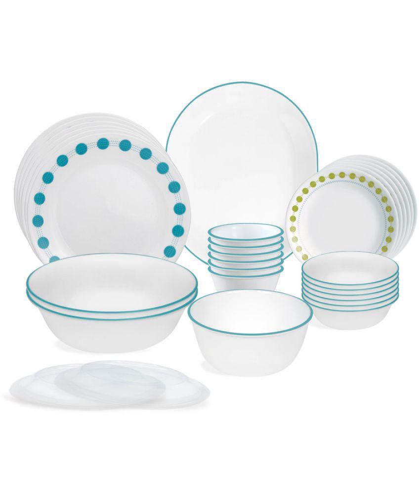 Corelle Livingware South Beach 30 Pcs Dinner set ...  sc 1 st  Snapdeal & Corelle Livingware South Beach 30 Pcs Dinner set: Buy Online at Best ...
