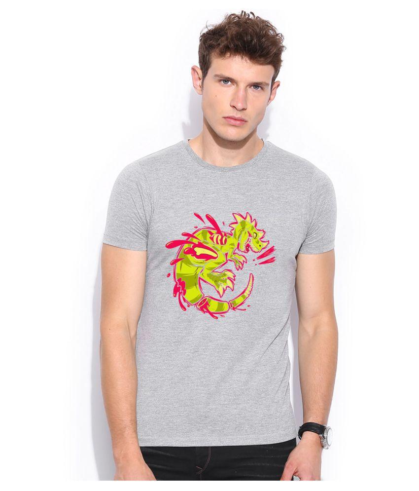 Artywear Grey Round T-Shirt