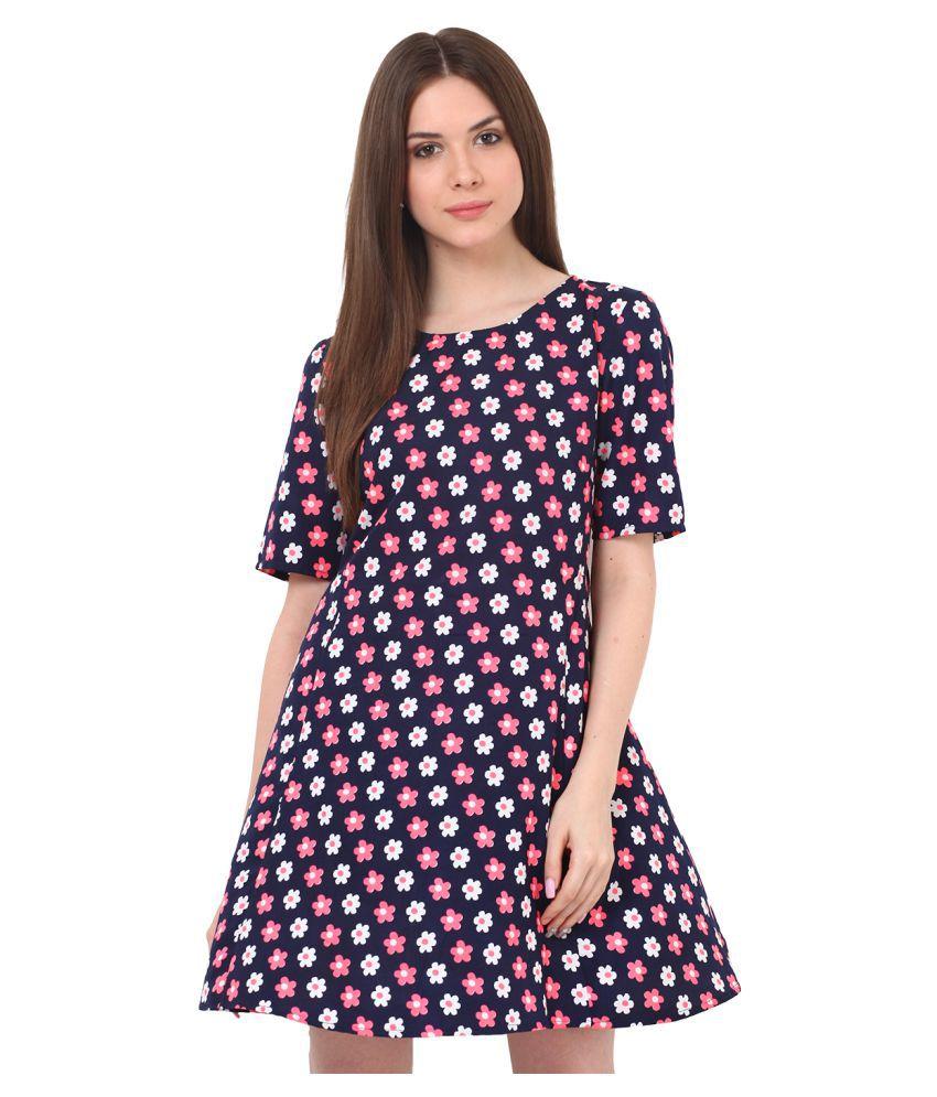 Rena Love Multi Color Crepe Dresses