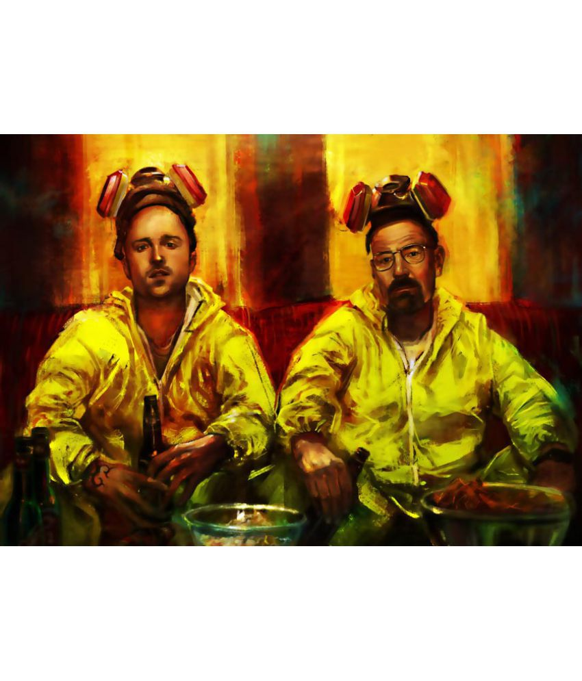 ULTA ANDA Breaking Bad Canvas Art Prints Without Frame Single Piece ...