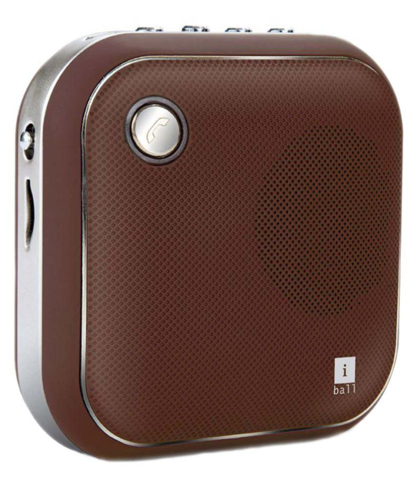 Iball Bluetooth Portable Speaker: Buy IBall MusiSquareBT6 Bluetooth Speaker