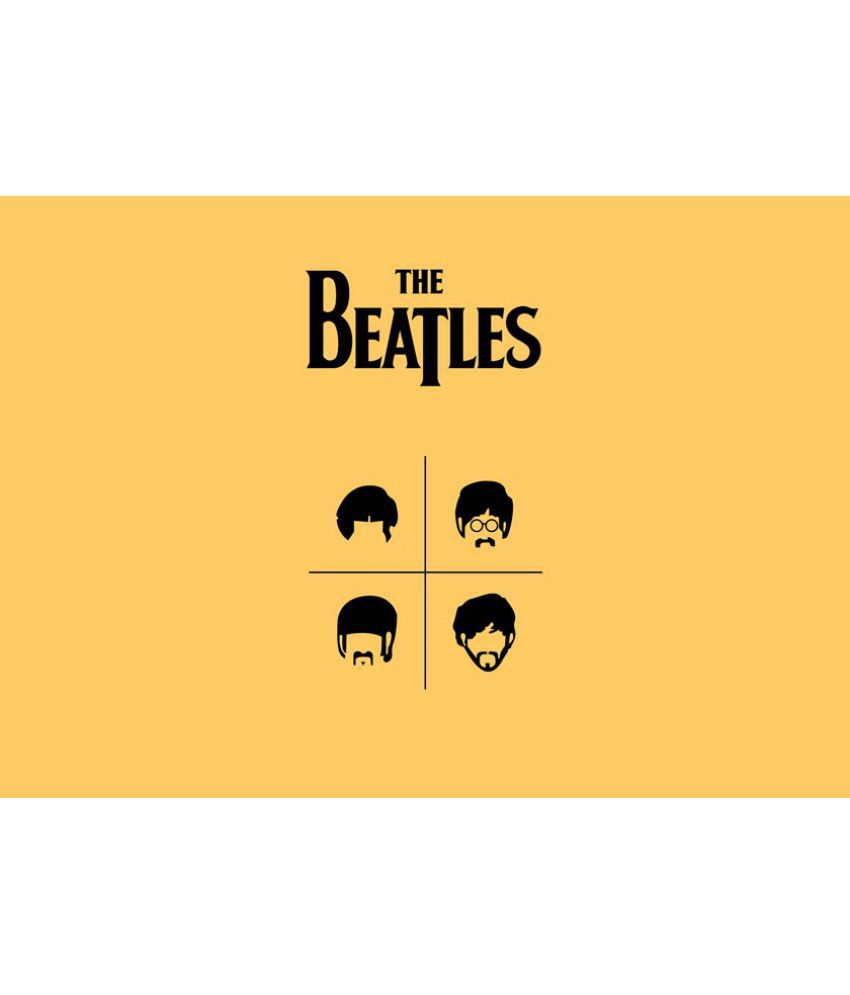ULTA ANDA The Beatles Canvas Art Prints Without Frame Single Piece ...