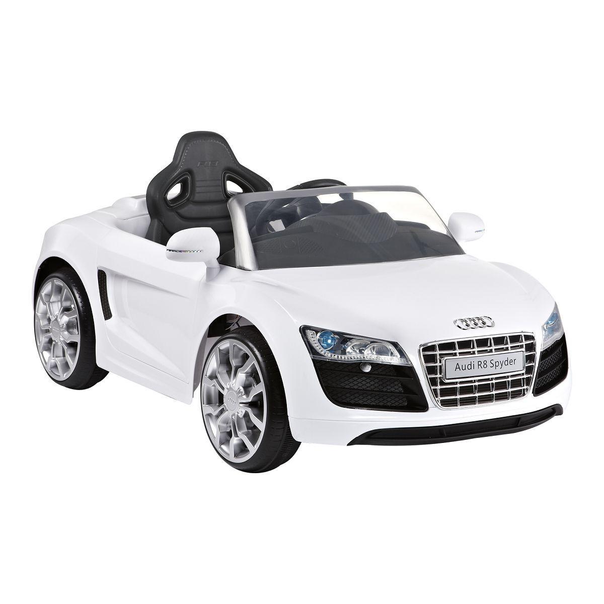 Toyhouse Officially Licensed Audi R Spyder V Rechargeable - Audi r8 6v car