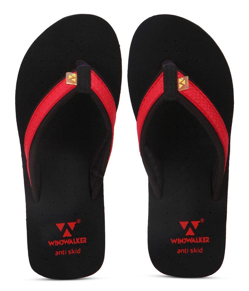 Windwalker Kawai Red Flip Flops