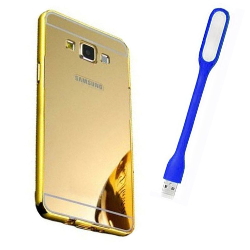 Mirror Back Cover For Samsung Galaxy S4 + Usb Light free by Style Crome.