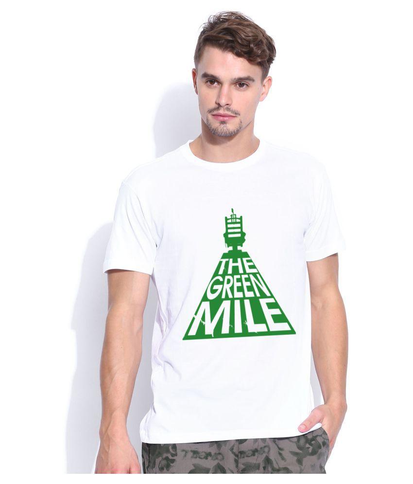 Artywear White Round T-Shirt